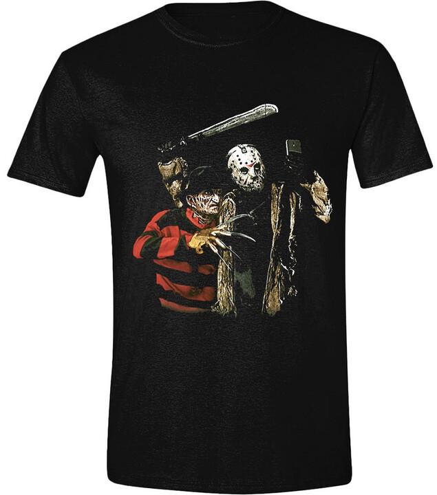 Tričko Freddy vs. Jason - Selfie (S)