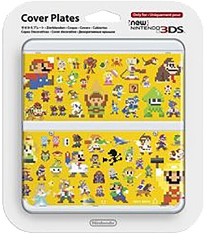 Kryt Nintendo New 3DS Cover Plate 29 (Multiplayer Characters)