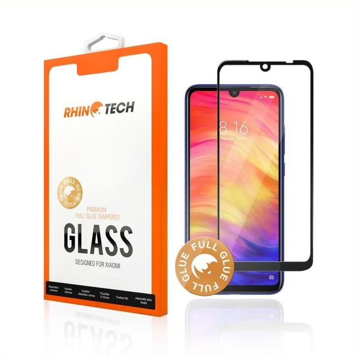 RhinoTech 2 tvrzené ochranné 2.5D sklo pro Xiaomi Mi 9 (Full Glue), černá