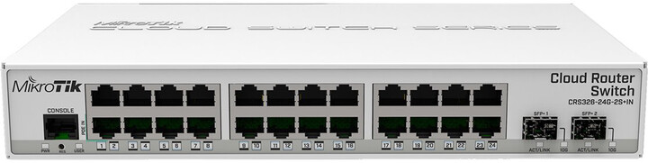 Mikrotik Cloud Router CRS326-24G-2S+IN