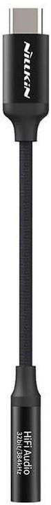 Nillkin adaptér Hifi Decode Audio Type-C - Jack 3,5mm, černá