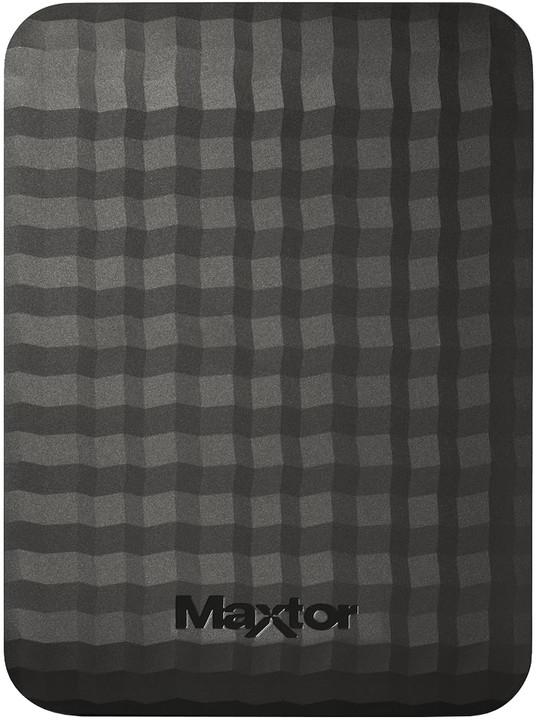 Maxtor M3 Portable - 500GB, černá