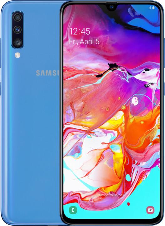 Samsung Galaxy A70, 6GB/128GB, modrá
