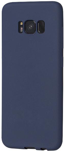EPICO SILK MATT pružný plastový kryt pro Samsung Galaxy S8+ - tmavě modrý