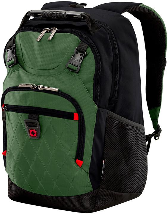 """WENGER PRIAM - 15,6"""" batoh na notebook a tablet, zelená"""