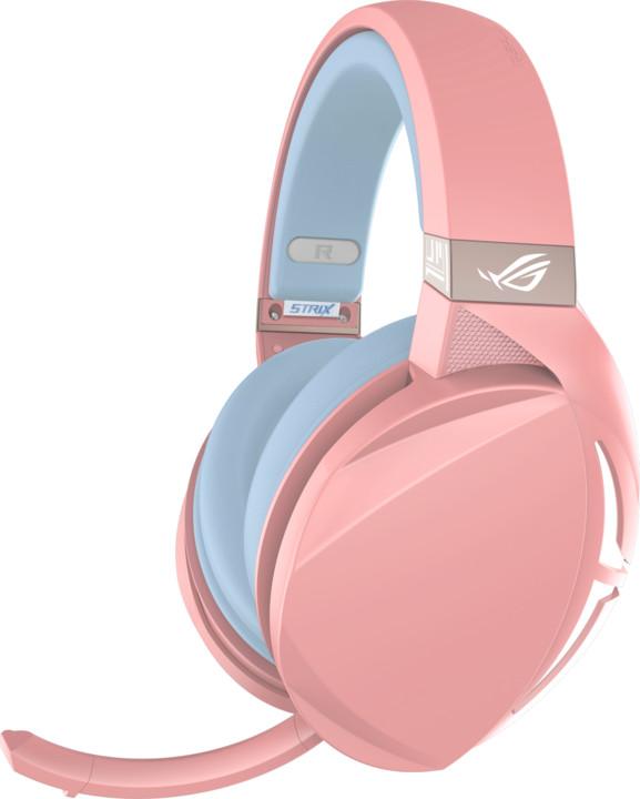 ASUS ROG Strix Fusion 300, růžová