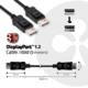 Club3D DisplayPort 1.2 na DisplayPort 1.2 , podpora 4K/60Hz, 3m