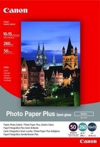 Canon Foto papír SG-201, 10x15 cm, 5 ks, 260g/m2 - saténový