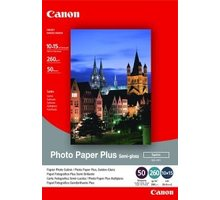Canon Foto papír SG-201, 10x15 cm, 5 ks, 260g/m2 - saténový - 1686B072