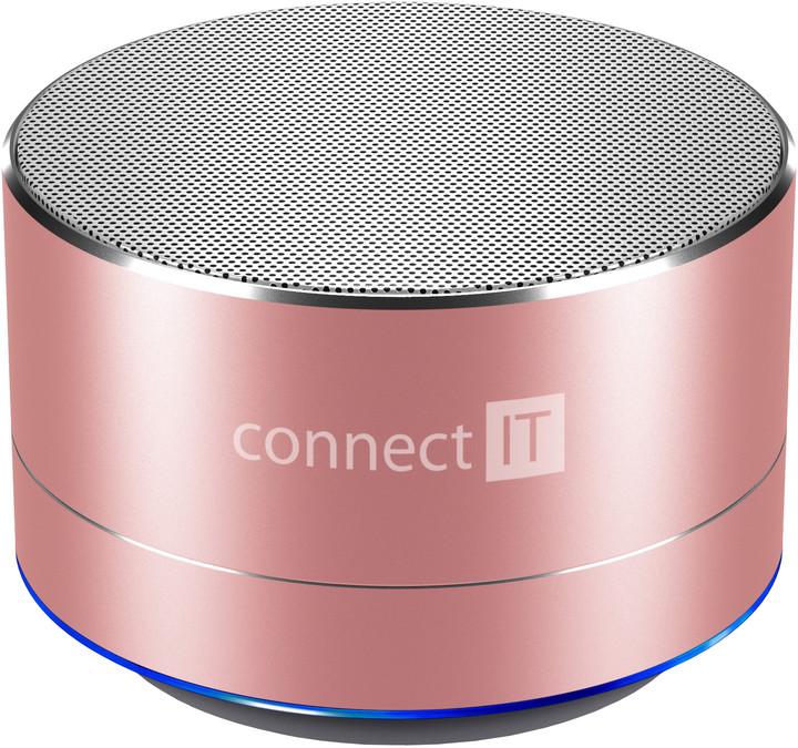 CONNECT IT CI-1228 BOOM BOX BS500, růžová