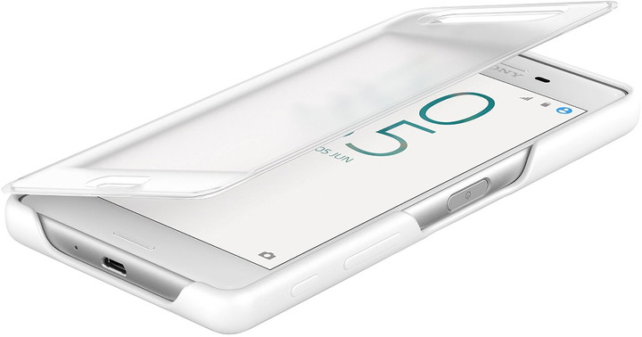 Sony SCR50 Style Cover Touch Xperia X, bílá