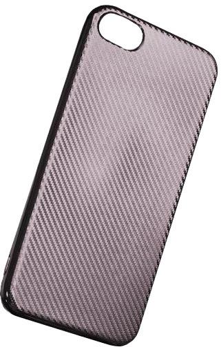 Forever silikonové (TPU) pouzdro pro Samsung Galaxy A3 2017, carbon/stříbrné