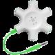 Belkin RockStar rozbočovací adaptér 5 portů 3.5 jack pro připojení sluchátek, bílá