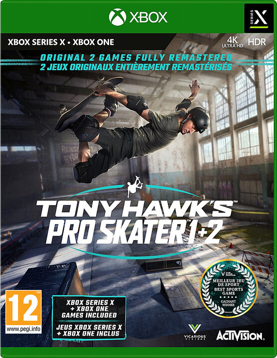 Tony Hawks Pro Skater 1 + 2 (XSX)