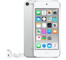 Apple iPod touch - 32GB, bílá/stříbrná, 6th gen. - MKHX2HC/A