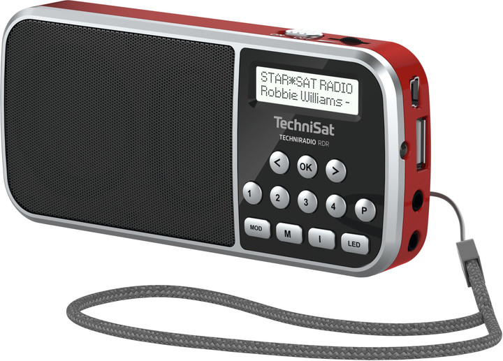 TechniSat TechniRadio RDR, červená