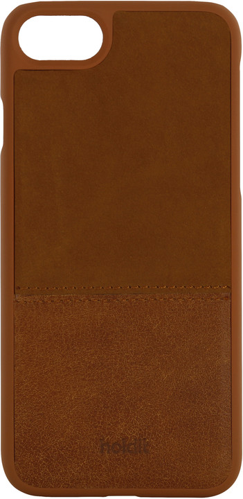 Holdit Case Apple iPhone 6s,7,8 - Brown Leather/Suede