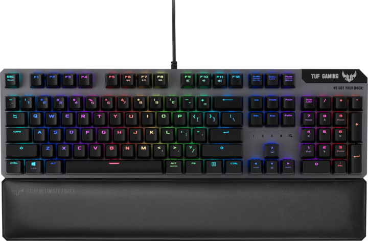 ASUS TUF Gaming K7, TUF Optical-Mech, CZ/SK