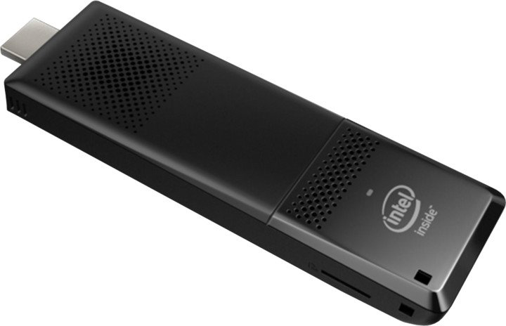 Intel Compute Stick BOXSTK2M3W64CC, černá
