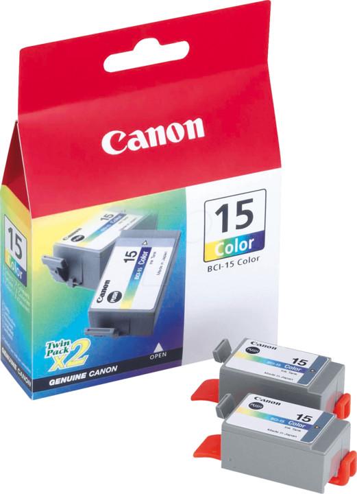 Canon BCI-15C, barevná 2ks