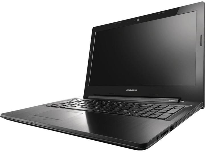 Lenovo IdeaPad Z50-75, černá