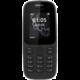 Nokia 105, DualSim, černá
