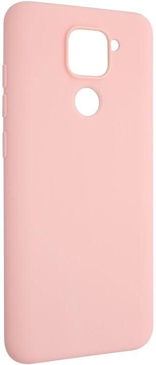 FIXED Story zadní pogumovaný kryt pro Xiaomi Redmi Note 9, růžová