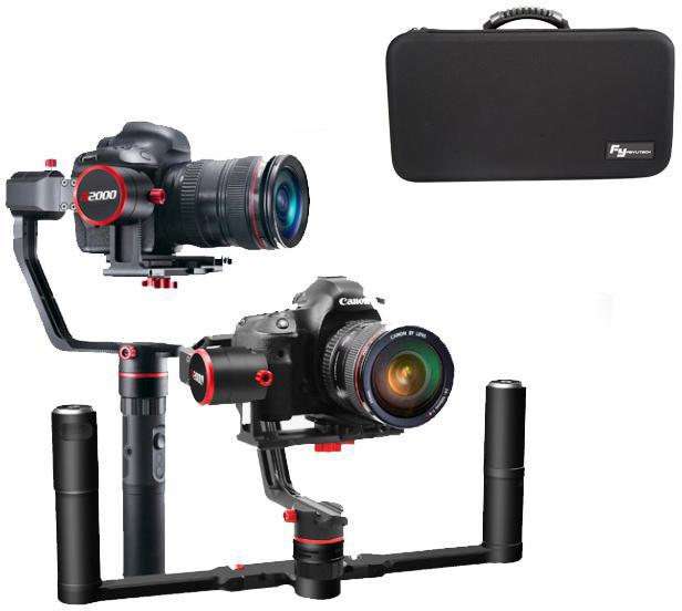 FeiyuTech a2000 stabilizátor pro fotoaparáty kit s duální rukojetí