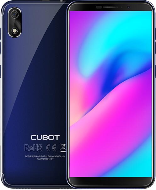 CUBOT J3, 1GB/16GB, modrá