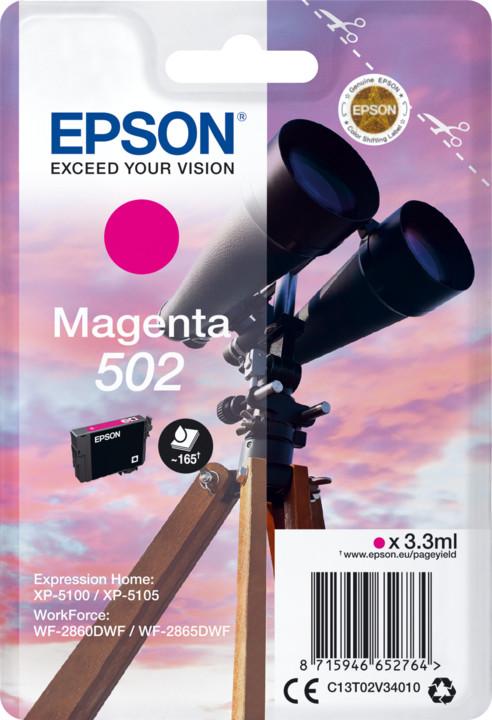 Epson C13T02V34010, magenta