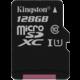 Kingston Micro SDXC Canvas Select 128GB 80MB/s UHS-I  + Voucher až na 3 měsíce HBO GO jako dárek (max 1 ks na objednávku)