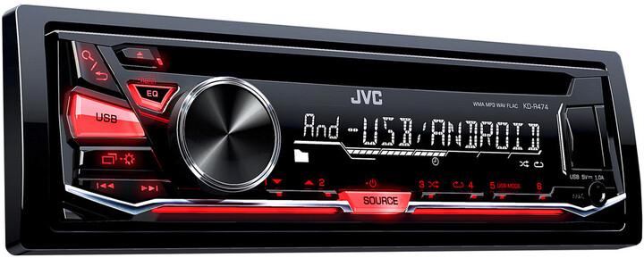 JVC KD R474