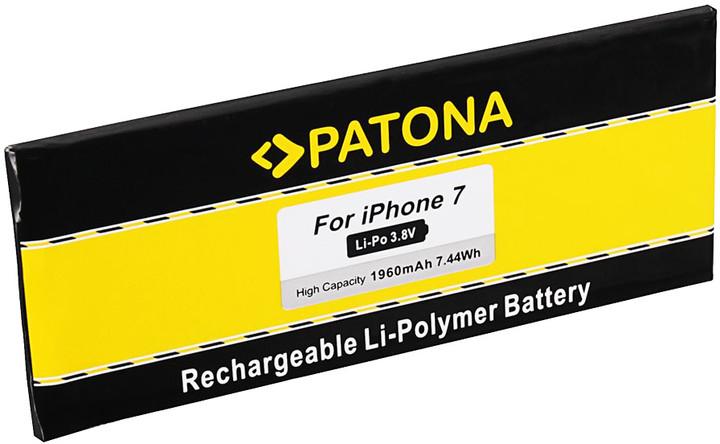 Patona baterie pro mobilní telefon iPhone 7 1960mAh 3,8V Li-Pol + nářadí