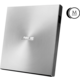 ASUS SDRW-08U7M-U + 2x M-Disk, slim, externí, stříbrná