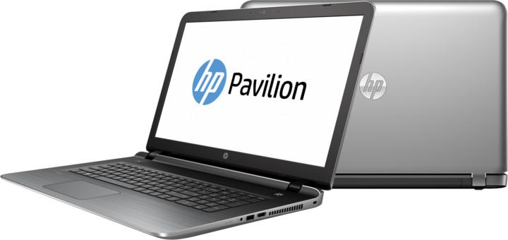 HP Pavilion 17 (17-g155nc), stříbrná
