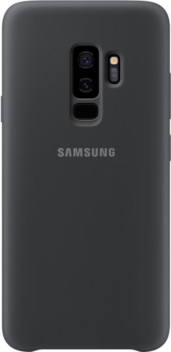 Samsung silikonový zadní kryt pro Samsung Galaxy S9+, černý