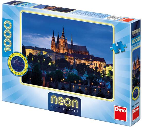 Puzzle Dino Večerní Praha, 1000 dílků