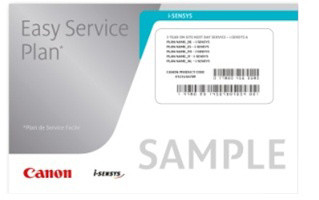 Canon záruka Easy Service Plan Installation service pro i-SENSYS