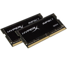 HyperX Impact 32GB (2x16GB) DDR4 2933 SO-DIMM CL 17 - HX429S17IBK2/32