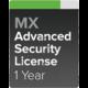 Cisco Meraki MX67-SEC Pokročilá ochrana a Podpora, 1 rok
