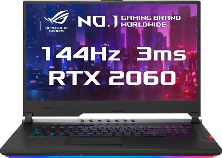 ASUS ROG Strix G731GW (SCAR Edition III), černá