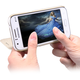 Nillkin Sparkle Folio pouzdro pro Samsung J100 Galaxy J1, zlatá(2015)