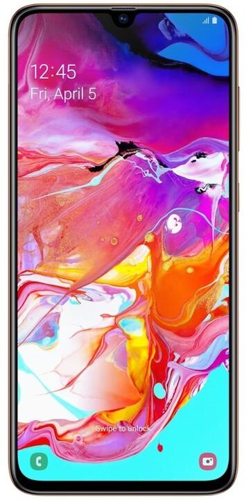 Samsung Galaxy A70, 6GB/128GB, Coral