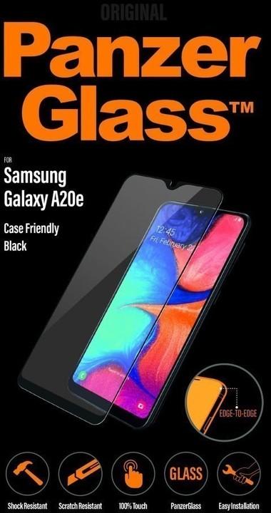 PanzerGlass Edge-to-Edge pro Samsung Galaxy A20e, černá