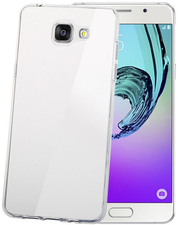 CELLY Gelskin pouzdro pro Samsung Galaxy A7 (2016), bezbarvá