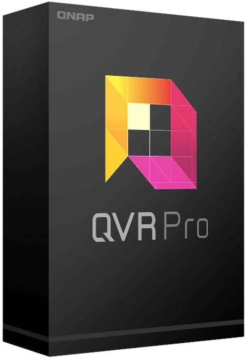 QNAP QVR Pro - licenční balíček pro kamery - 4 kamera, el. licence OFF