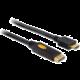 DeLock DisplayPort samec na HDMI samec, délka 3m