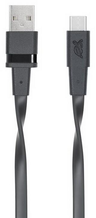 RivaCase Riva 6003 BK1 USB-C 3.0 kabel 1,2m, černá