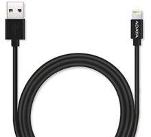 ADATA Lightning Cable 2M, černý - AMFIPL-200CM-CBK
