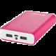 GoGEN powerbank 10000 mAh, růžovo-bílá